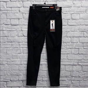 Black Celebrity Pink Skinny Curvy Hi-Rise Jeans 13